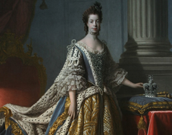 Queen Charlotte - Sir Alan Ramsay, 1762